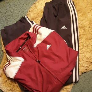 Mens adidas pants & jacket